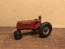 Vintage Cast Iron Arcade Oliver Red Tractor
