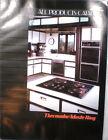 Vtg THERMADOR Waste King Catalog RETRO Kitchen Range Ovens Hoods Microwave 1989 photo
