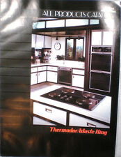 Vtg THERMADOR Waste King Catalog RETRO Kitchen Range Ovens Hoods Microwave 1989