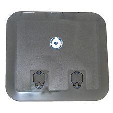 Deck Hatch 520 x 465 mm (Grey) - Flush Hinges - 180 Degree Opening - Anti Skid