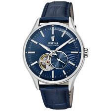 Relojes de pulsera fecha Clásico de cuero