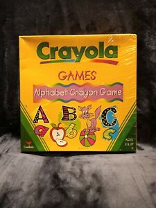 Crayola Games Alphabet Crayon Game Ages 3+ NEW & SEALED