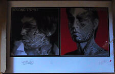 """ROLLING STONES """"Tattoo You"""" signierte Lithographie RARE"""