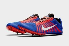 Nike Zoom D Unisex Spikes Track Field Running Shoes 819164 416 Blue Men's 9.5