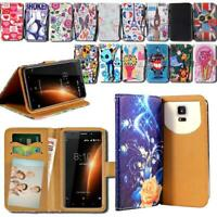 For Various Blackview SmartPhones - Leather Smart Stand Wallet Cover Case