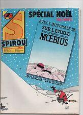 SPIROU n°2436. Intégrale de Sur l'Etoile de MOEBIUS. 20 décembre 1984