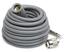 K-40 Coax Cable w/Rubber Boot and FME end for easy install.High Quality RG-8X
