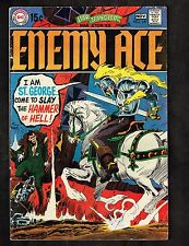 """Star Spangled War Stories #147~Enemy Ace / """"A Grave in the Sky!"""" ~ 1969 (4.0) Wh"""
