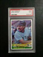 Wade Boggs 1984 Donruss Boston Red Soxs Card #115 PSA 9