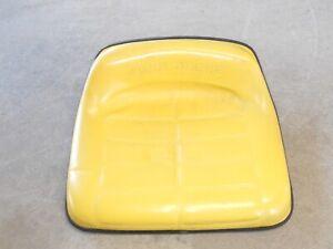 John Deere RX63 RX63 RX75 RX95 STX38 Yellow Deck Riding Mower Seat AM106109