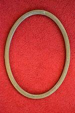 Bilderrahmen, Rahmen oval, Holz, goldfarben
