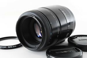 【Near Mint】 Minolta AF Macro 100mm F/2.8 Lens New For Sony A w/caps from Japan