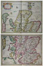 Scotiae Pars Septentrionalis - Schottland - Hondius 1620 -Altkoloriert -Scotland