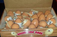 BOUNCY FAKE EGG, Rubber Balls, Egg Jet Ball Party Bag Filler joke fun UK SELLER