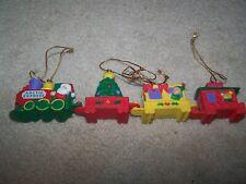 ARTIC EXPRESS Mini 4 Piece Connectable Train Set / Orniments
