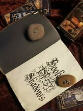 Book Of Shadows, Leather Book, 180+ Pages, Info, Spells Etc. Pagan Wiccan