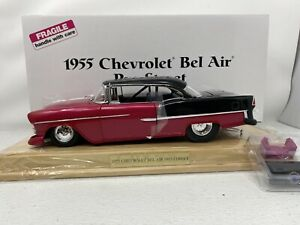 1/16 Danbury Mint 1955 Chevrolet Bel Air  Pro Street  Red /Black BNIB RARE!!!