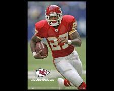 LARRY JOHNSON Kansas City Chiefs 2007 Vintage Original NFL Action POSTER