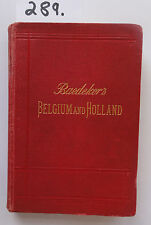 Baedeker Belgium and Holland 1910 (W.)