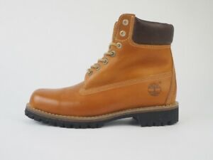 Mens Timberland Earthkeepers Rugged 5901R Tan Leather Waterproof Boots UK 8.5
