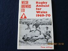 RUGBY ANNUAL FOR WALES - 1968-70- FIRST ONE.- EXCELLENT CONDITION FROM NEW.
