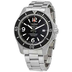 Breitling Superocean Automatic Chronometer Black Dial 42 mm Men's Watch