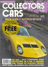 COLLECTORS CARS MAGAZINE SUMMER 1990 300SL LAMBORGHINI GORDON CROSBY PRINTS (4)