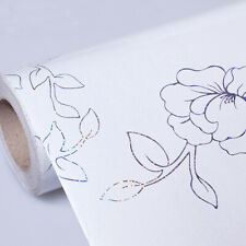 Vinyl Peony Wallpaper Floral Self Adhesive Contact Paper Cupboard Home Decor
