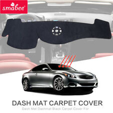 Dash Mat for INFINITI G25 G37 Coupe/Sedan 2009-2010 G37 Dashmat Black Carpet