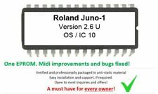 Roland Alpha Juno-1 - Version 2.6 Firmware Update Upgrade eprom for Juno1 Techno