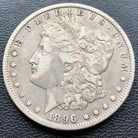 USA 1896 O Morgan Dollar $1 XF Silber #25566