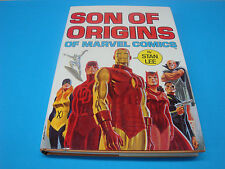 SON OF ORIGINS hard cover HC (1975 Fireside) 1ST PRINT / VF- Condition.