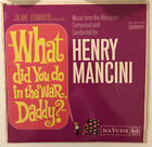 What Did You Do In The War Daddy? OST Vinyl LP Henry Mancini