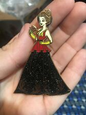 Belle Dressed As Gaston Fantasy Pin