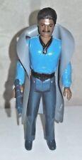 Vintage Star Wars Lando Calrissian No Teeth -Original Blue/Green Weapon and Cape
