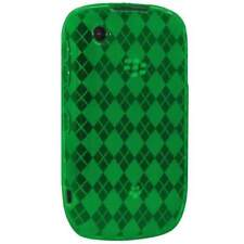 AMZER Luxe Argyle Skin Case Cover For BlackBerry Curve 3G 9300 & 9330 - Green