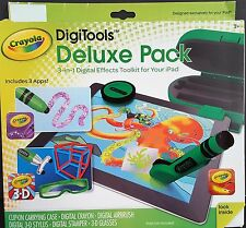 Crayola Digitools Deluxe Pack 3-in-1 Digital Effects Toolkit for Your iPad