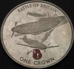 GIBRALTAR 1 Crown 2004 Proof - Battle of Britain - 3851 ¤