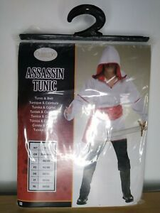 Assassin's Creed Style Fancy Dress Costume Size Adult Medium/Large Brand 🆕.