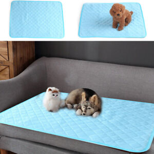 Pet Dog Cat Summer Home Self Cooling Mat Pillow Large Bed Pads New