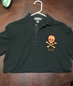 rugby polo skull