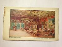 Antique Vintage Postcard Ball Room W.C. Whitney Residence W.R. Hearst 1904 F2