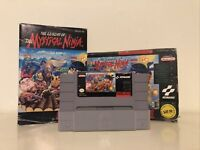 The Legend of the Mystical Ninja Game - Super Nintendo SNES NTC US Version 1994