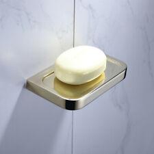 Bath Shower Soap Dish Storage Holder Bathroom Hanger Container Shelf Wall Mount