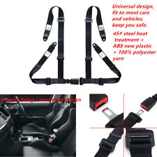 4 Point Car Vehicle Racing Safety Seat Belt Powerful Nylon Harness Quick Release