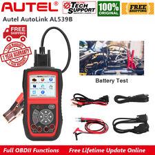 Autel AutoLink AL539B Automotive OBD2 OBDII Code Reader Car Battery Circuit Test