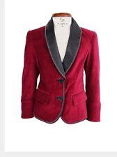 La Miniatura Velvet Ruby Jacket Sz 4