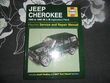 HAYNES MANUAL JEEP CHEROKEE petrol 1996
