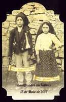 STS. JACINTA & FRANCISCO MARTO / OUR LADY OF FATIMA & POPE FRANCIS - CENTENARY