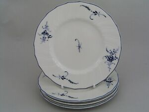 """FOUR VILLEROY & BOCH LUXEMBOURG 6 1/8"""" SIDE PLATES."""
